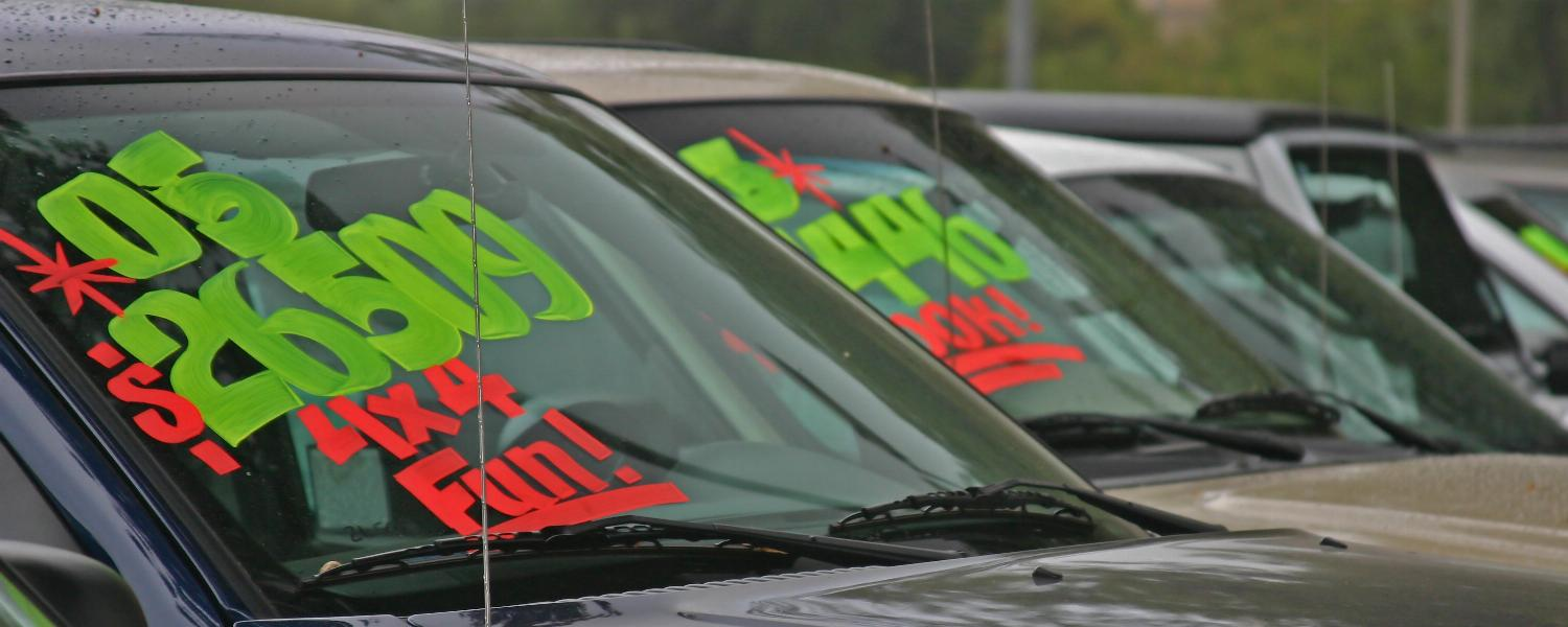 banner of Used Cars Can Be a Great Money Saver