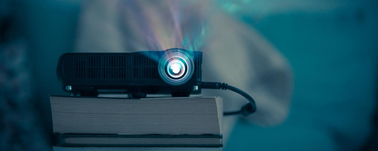 banner of A Projector Could Be the Perfect Fit in Your Media Room