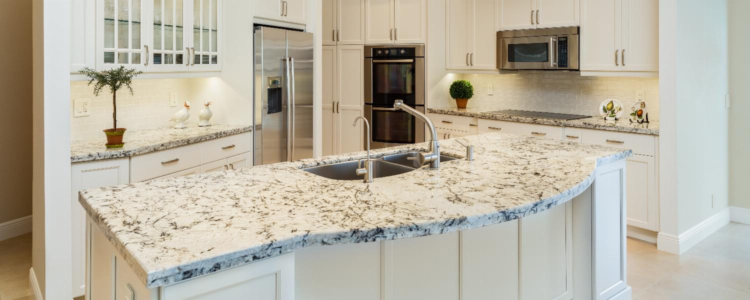 banner of A Beautiful Countertop Completes Any Kitchen