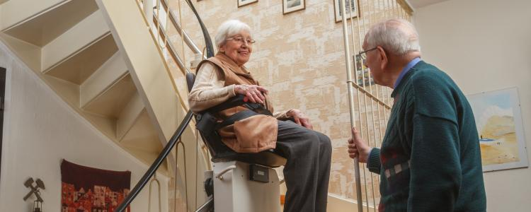 main of Stair Lifts Can Provide Safety and Increase Home Value